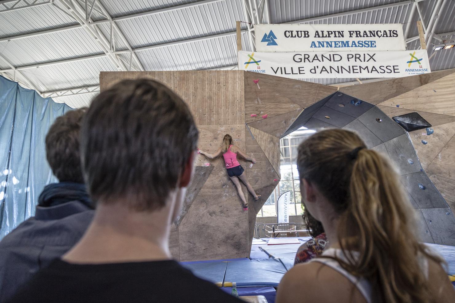 Open Escalade Annemasse 2014