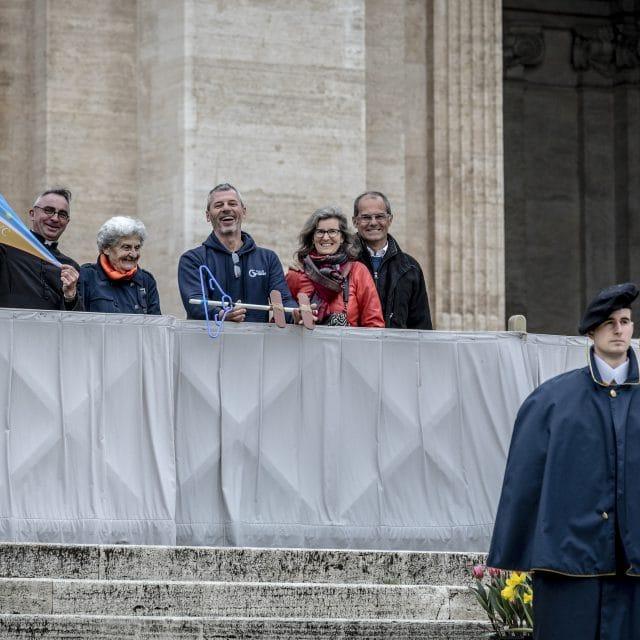 Rencontre avec le Pape François