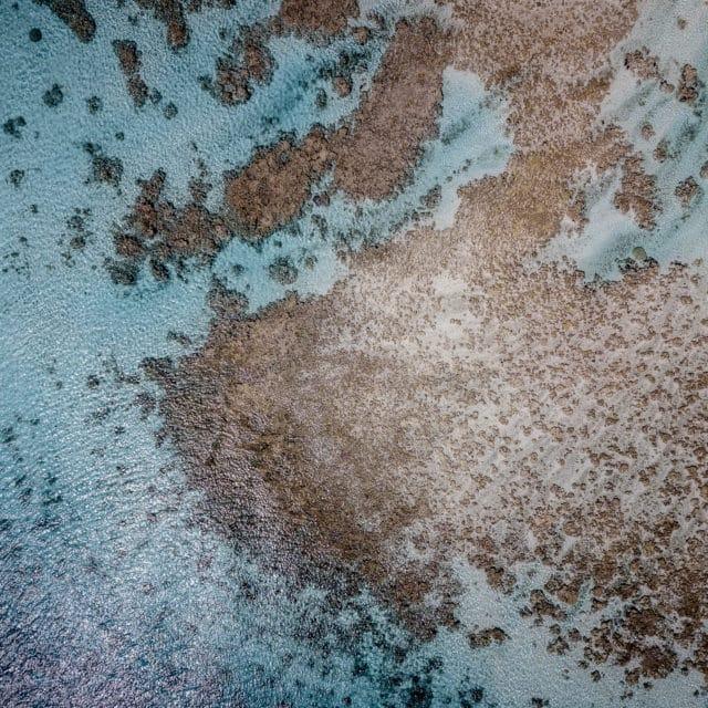 Fakarava Sud vu du ciel