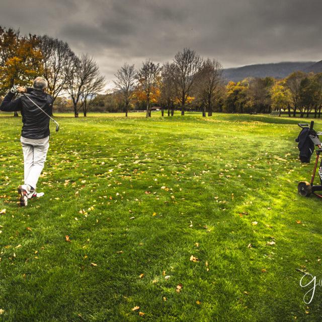 Leçon de golf à Bonmont
